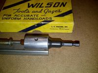 L.E. Wilson Primer Pocket Reamer Adapter