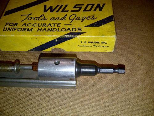 L.E. Wilson Primer Pocker Reamer Adapter